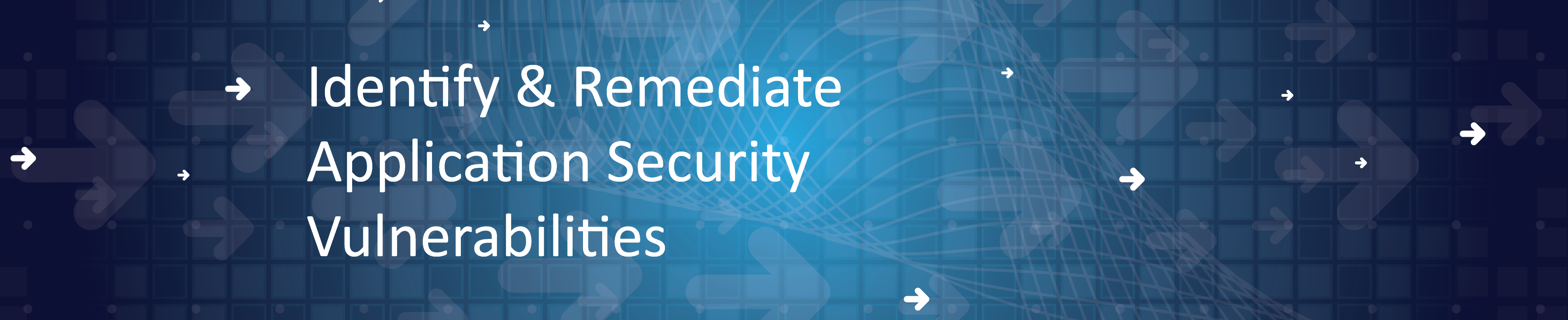 Identify and Remediate Application Security Vulnerabilities Header-1-10